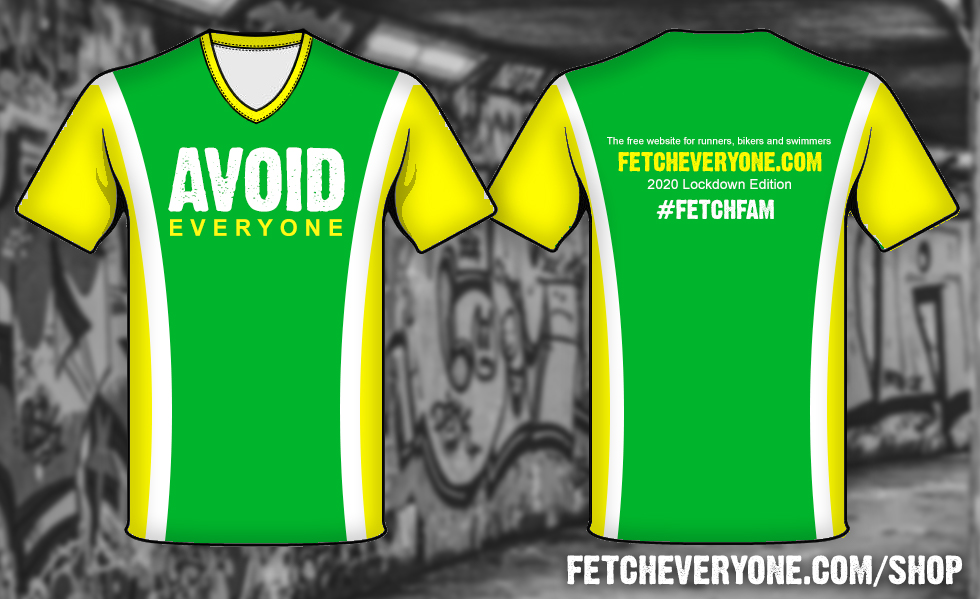 Our new Avoid Everyone shirts and vests